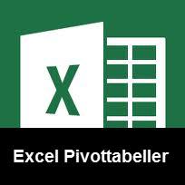 Excel Pivottabeller