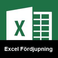 Excel fördjupning
