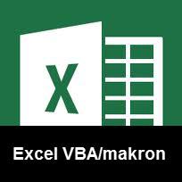 e-kurs i VBA och makron