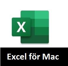 Excel för Mac